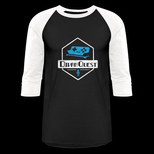 DivanQuest Logo (Badge) - Baseball T-Shirt