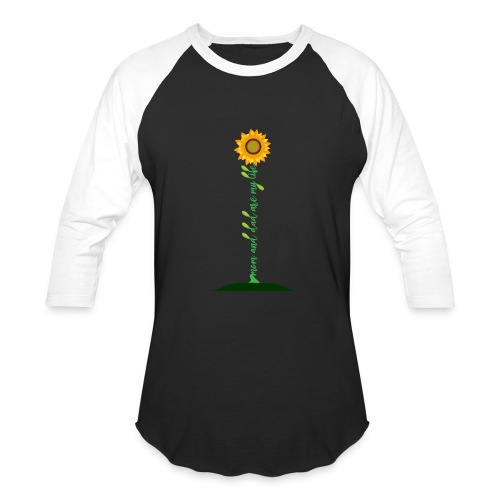 Mom And Dad Are My Life - Best Idea sunflower - Baseball T-Shirt