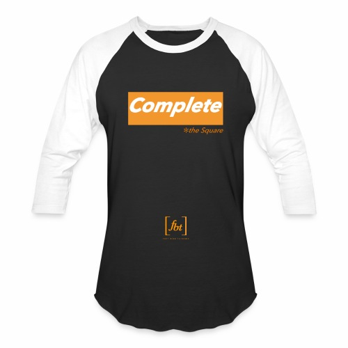 Complete the Square [fbt] - Baseball T-Shirt