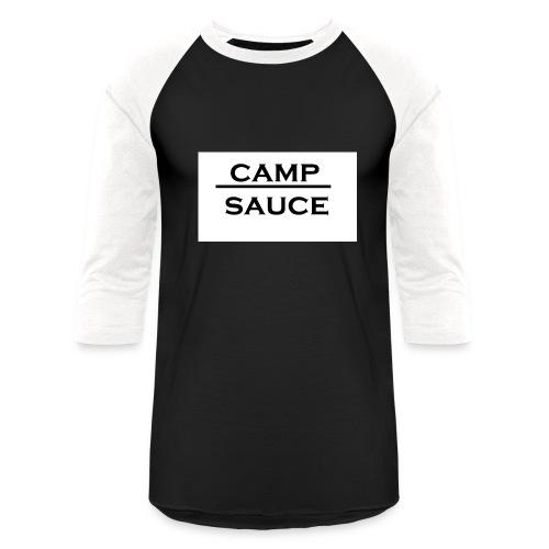 Camp Sauce - Baseball T-Shirt