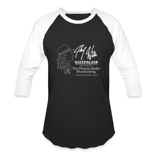 Johnny Winter's Winterland - Baseball T-Shirt