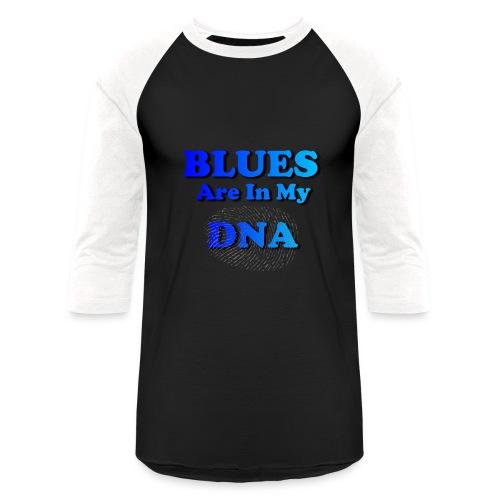 Blues DNA - Baseball T-Shirt