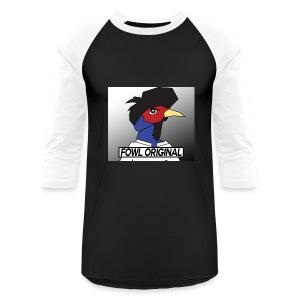 Fowl Original Logo - Baseball T-Shirt