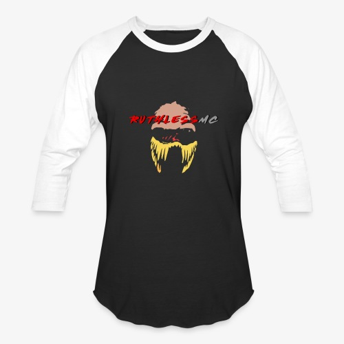 ruthless mc color logo t shirt - Baseball T-Shirt