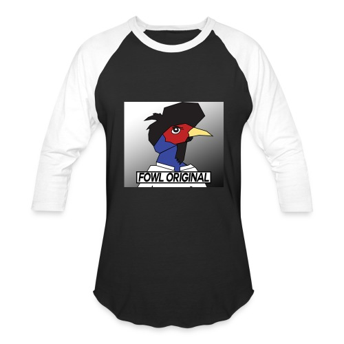Fowl Original Logo - Baseball T-Shirt
