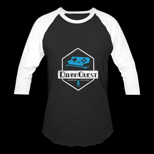 DivanQuest Logo (Badge) - Baseball T-Shirt