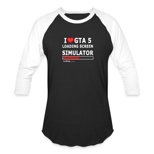 I love GTA 5 Loding Screen SIMULATOR - Baseball T-Shirt