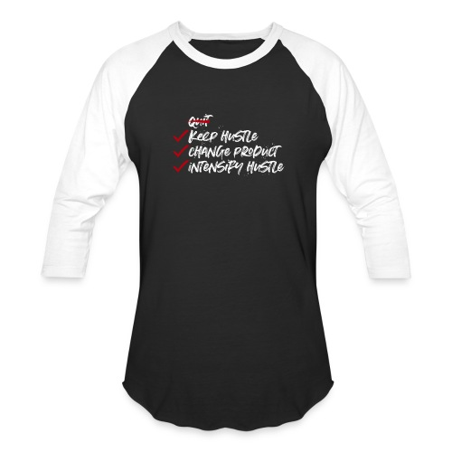 Keep Hustle - Baseball T-Shirt