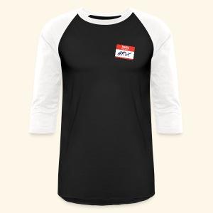 NameTag - Baseball T-Shirt
