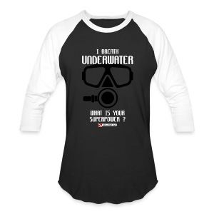DIVER SCUBA fun - Baseball T-Shirt