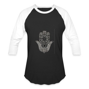 Ezina Hamsa Design - Baseball T-Shirt