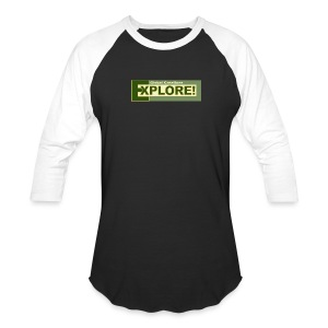 Explore Logo - Baseball T-Shirt