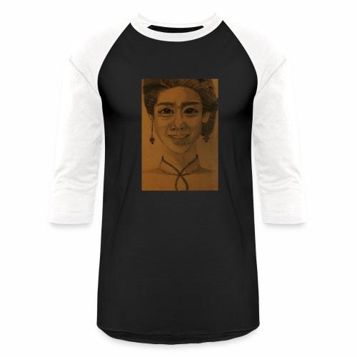 Drew it! - Baseball T-Shirt