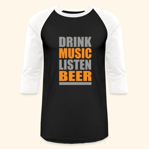 Drinkbeer TEE - Baseball T-Shirt