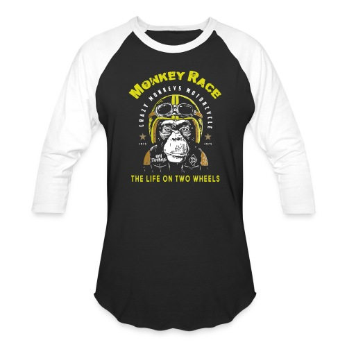 MONKEY RACE - Baseball T-Shirt