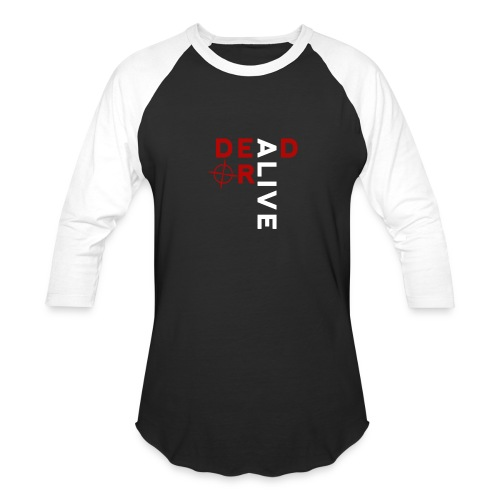 DEAD OR ALIVE LOGO - Baseball T-Shirt