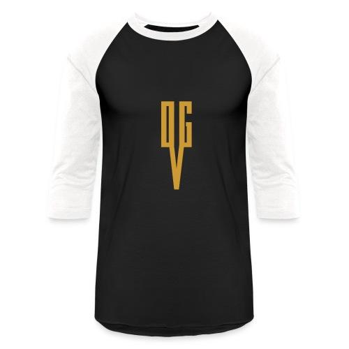 OGVIconBronzedTrnsprnt - Baseball T-Shirt