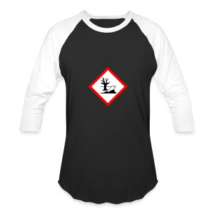 danger for the environment - Baseball T-Shirt