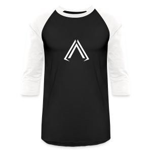 Arise Solid White - Baseball T-Shirt