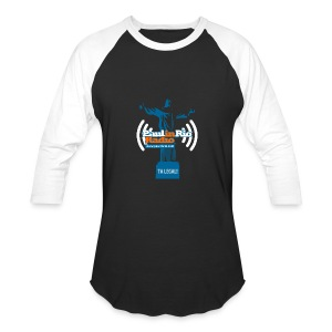 Paul in Rio Radio - The Thumbs up Corcovado #2 - Baseball T-Shirt