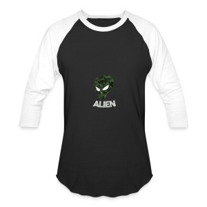 Military Alien - Baseball T-Shirt