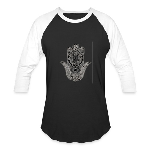 Ezina Hamsa Design - Baseball T-Shirt