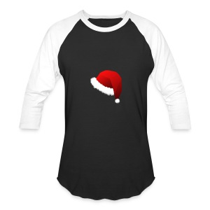 Carmaa Santa Hat Christmas Apparel - Baseball T-Shirt