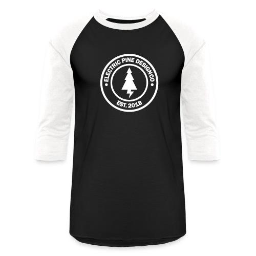 CIRCLE LOGO WHITE - Baseball T-Shirt
