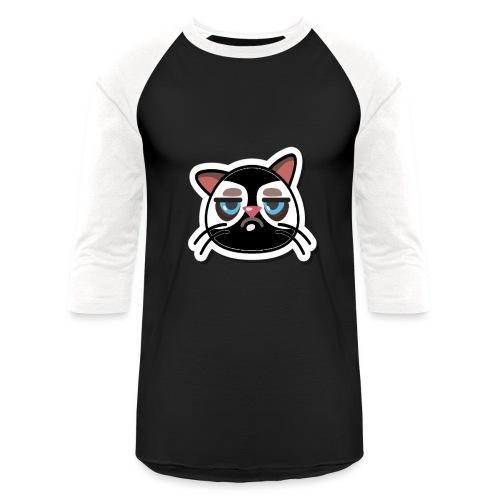 bored cat - Baseball T-Shirt