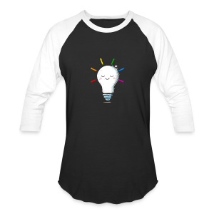 Lighten Up - Baseball T-Shirt