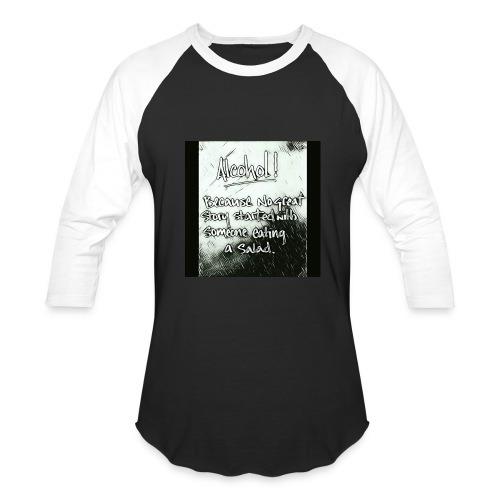 Alcohol - Baseball T-Shirt