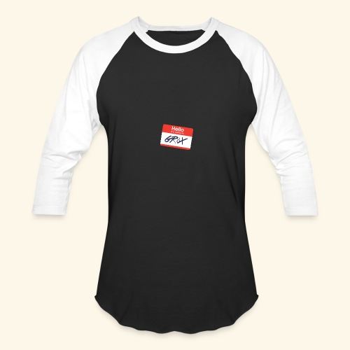 NameTag - Baseball T-Shirt