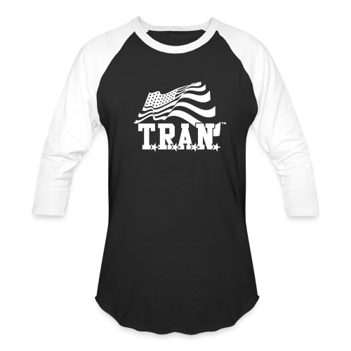 New Tran Logo Transparent inverted png - Baseball T-Shirt