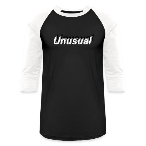normal shadow unusual - Unisex Baseball T-Shirt
