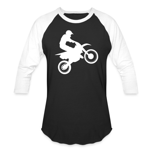 Motocross - Baseball T-Shirt