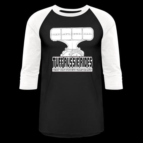 Tuff Aussie Rides Blower Design - Unisex Baseball T-Shirt