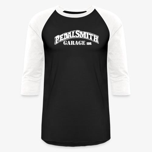 Pedal Smith Garage White - Baseball T-Shirt