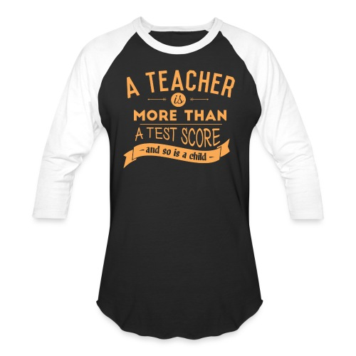 More Than a Test Score Women's T-Shirts - Baseball T-Shirt