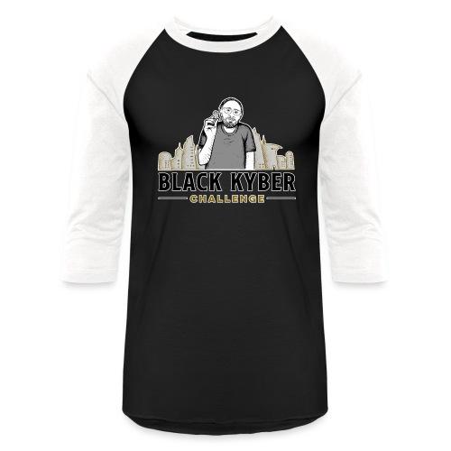 Black Cyber Challenge - Unisex Baseball T-Shirt
