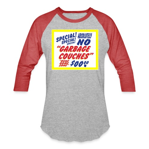Bunz Home Zone Loyal Larry Garbage Couch - Baseball T-Shirt