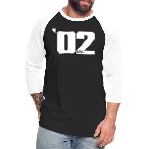 2002 (White) - Unisex Baseball T-Shirt