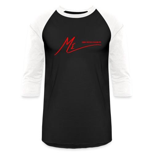 Failure Will Never Override Me! - Unisex Baseball T-Shirt