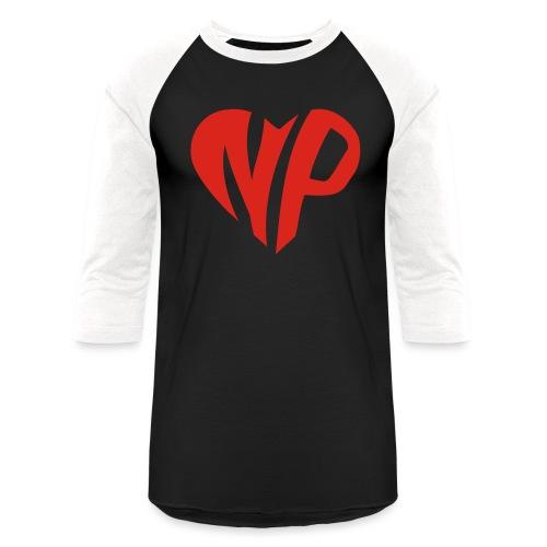 np heart - Unisex Baseball T-Shirt