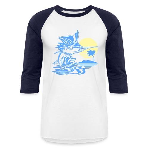 Sailfish - Baseball T-Shirt