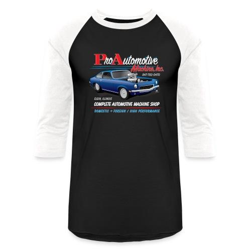 ProAutoTeeDesign062317fin - Baseball T-Shirt