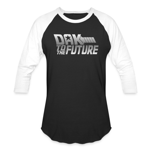 Dak To The Future - Baseball T-Shirt