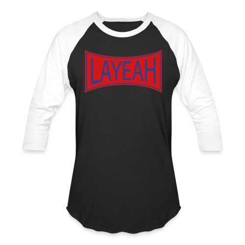 White LaYeah Shirts - Baseball T-Shirt