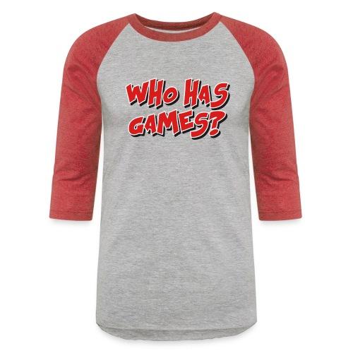 Front png - Unisex Baseball T-Shirt