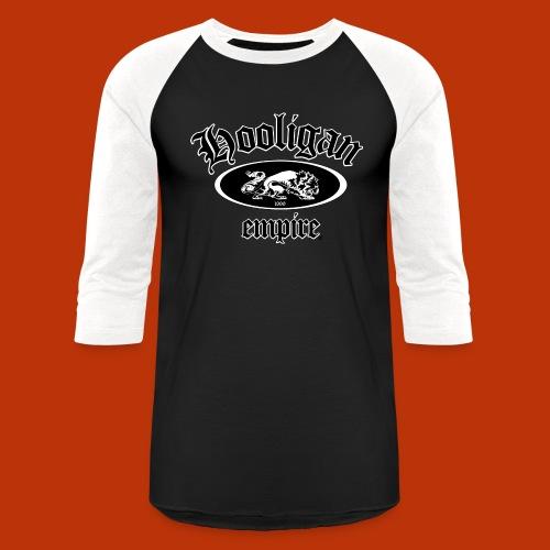 Hooligan Empire Lion Black - Baseball T-Shirt