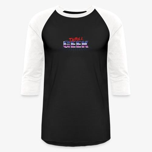 ThrillGeek 80's Retro Logo - Baseball T-Shirt
